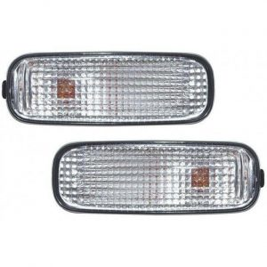 For Honda Civic Hatch 3 And 5 Door 96-00 Clear Side Repeaters Blinkers