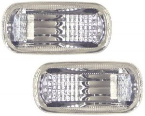 For Honda Civic Hatch 3/5 Door 2001+ Crystal Clear Side Repeaters Blinkers