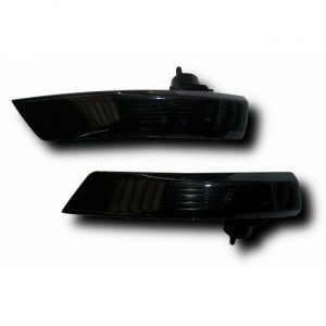 For Ford Focus Mk3 2008+ Mondeo Mk4 2008+ Crystal Black Smoked Side Repeaters