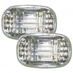 Autoart Side Marker Lights Repeaters Crystal Clear For Toyota Celica Corolla Mk2