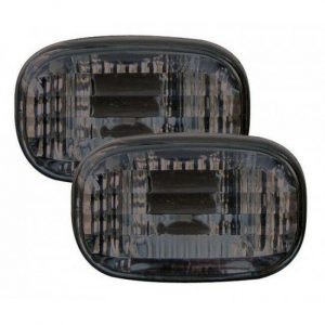 Autoart Side Marker Lights Crystal Black Smoked For Toyota Celica Corolla