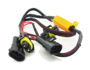 Pair 50W 6Ohm H11 H8 H9 LED Bulb Load Resistors Plug & Play Canbus Error Free