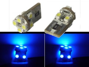 Blue 8 LED Canbus 501 Sidelight Parking/ Interior Bulbs Spare Part Replacement