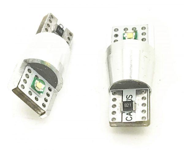 10W 12v LED Canbus Error Free 501 W5W 504 Sidelight Parking Bulbs Xenon White