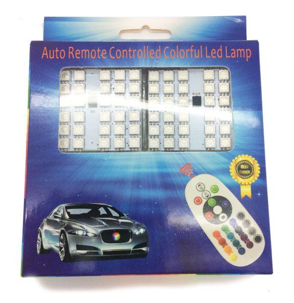 2 pcs INTERIOR 36 SMD LED BOARD STROBE lights REMOTE For 31MM 36MM 44MM 501 W5W