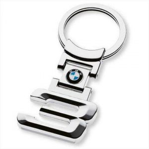 For BMW 3 Series Stainless Steel Key Ring Fob Xmas Gift E30 E36 E46 E90 E92 E93