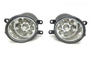 For Citroen C1 Mk1 Hatchback 3/2012-2014 LED Front Fog Lights Lamps Pair OS NS