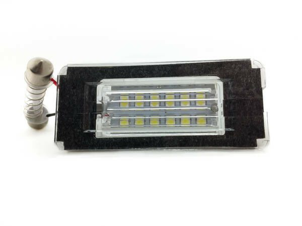 24 SMD LED Rear Number Plate Light Units 6000K For Mini R56 LCI R52 Cabrio