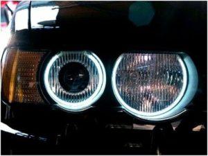 For BMW X5 E53 99-06 Ccfl Angel Eye Kit 6000K Uk Lighting Set Electric