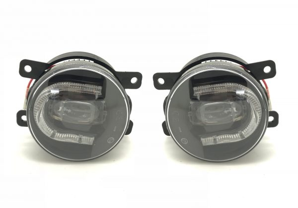 DIRECT FIT OEM LED Front Fog Lamp & DRL PAIR LEFT & RIGHT