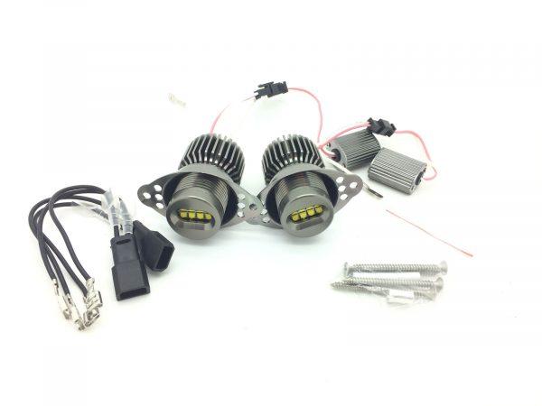 64W CREE Angel eye LED upgrade Bulbs For BMW 3 SERIES E90 E91 2005-08 Halo ring