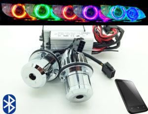 BMW E39 E60 E87 20W Bluetooth Multicolour Change Cree LED For BMW Angel Eye Halo
