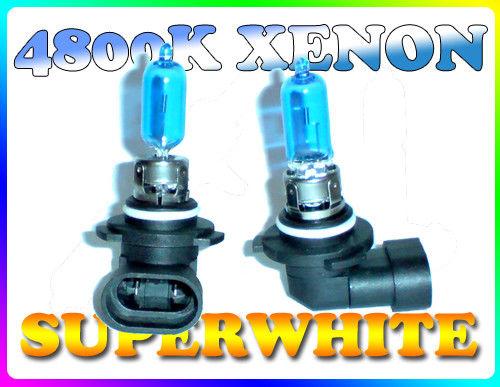 Pair 65W 9005 Hb3 Superwhite 4800K Xenon Headlight Bulbs Headlamp Spare Part
