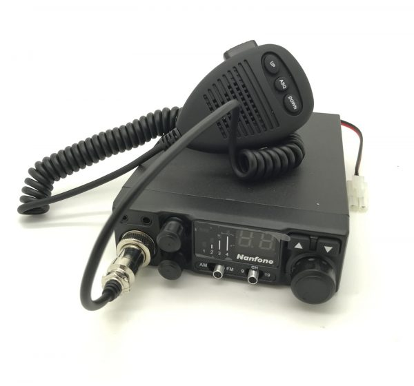 12V FM 40 UK CHANNEL CB RADIO CITIZEN BAND SIRO bolt mount antenna FULL SETUP