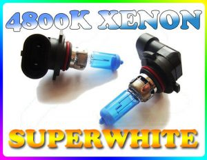 Pair 42W H10 Superwhite 4800K Xenon Headlight Bulbs Headlamp Replacement Part