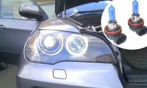Pair 35W H8 7500K Xenon Headlight Lamp Bulbs Lighting Replacement Part