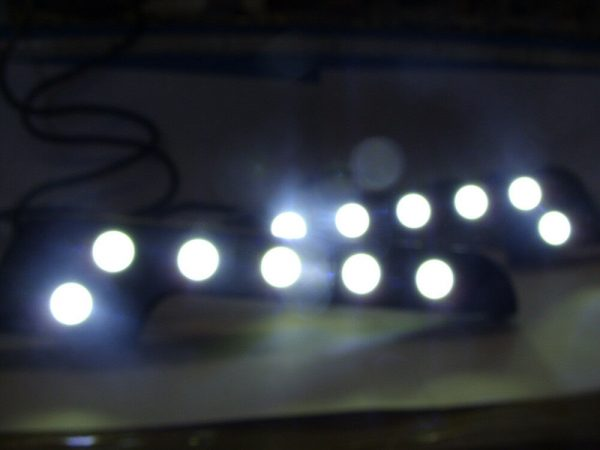 Extreme High Power L Shape DRL LED Daytime Running Lights Lamps Universal