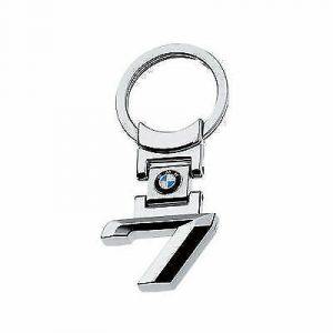 For BMW 7 Series Stainless Steel Key Ring Fob Xmas Gift E38 E65 E66 E67 F01 F02