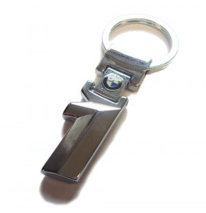 For BMW 1 Series Stainless Steel Key Ring Chain Fob Xmas E81 E88 E87 F20 F21