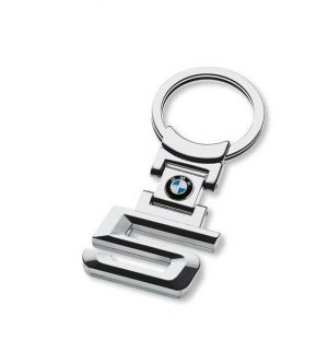 For BMW 5 Series Stainless Steel Key Ring Fob Xmas Gift E39 E60 E61 F07 F11 F10