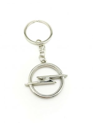 Logo Emblem 3D Key Ring Chain Fob Xmas Gift Keychain Metal Chrome For Opel Corsa