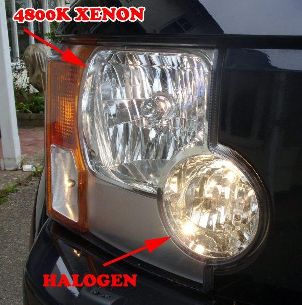 Pair 24V 70W H1 Super White 4800K Xenon Headlight Bulbs Lorry Truck Hgv