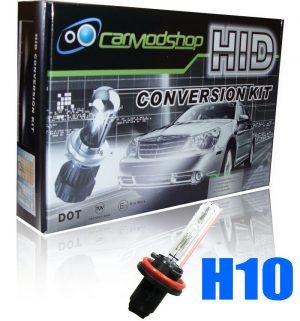 35W H10 Gas Discharge Xenon Hid Conversion Kit Set Canbus Pro Error Free