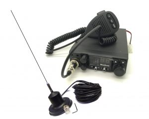 12V Fm 40 Uk Channel Cb Radio Kit With Mag Mount Antenna Bundle Replacement
