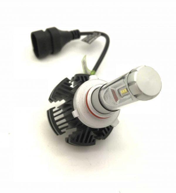 50W Adjustable LED Headlight Bulbs Kit 6000 Lumens 12v-24v Canbus H7 H4