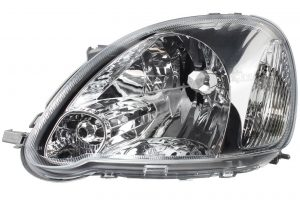 Aftermarket RHD Front Left Headlight Halogen H4 PY21W W5W For Toyota YARIS VERSO