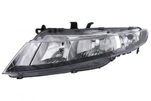 Aftermarket RHD Front Left Headlight Halogen H7 H1 For Honda CIVIC VIII