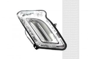 RHD LHD Front Right Daytime Running Light x1 LED Fits Volvo S60 Ii 04.10-On