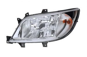 Aftermarket RHD Front Left Headlight Halogen H3 H7 For Mercedes-Benz SPRINTER