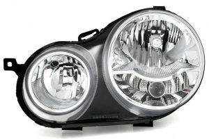 Aftermarket RHD Front Left Headlight Halogen H1 H7 PY21W W5W For VW POLO 9N