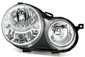 Aftermarket RHD Front Right Headlight Halogen H1 H7 PY21W W5W For VW POLO 9N