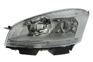 Aftermarket RHD Front Left Headlight Halogen H7 H1 For Citroen C4 Grand Picasso