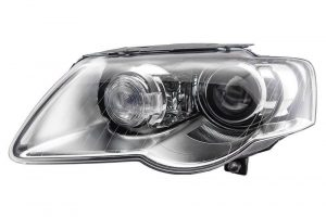 RHD Front Left Headlight x1 Xenon Replacement Spare Fits VW Passat 03.05-11.10