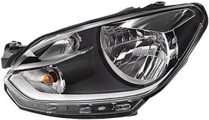 OEM 1411442L RHD Front Headlight Single Replacement Fits Peugeot 406 10.95-01.05
