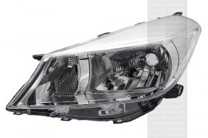 RHD Front Left Headlight x1 Halogen Spare Fits Toyota Yaris/Vitz 12.10-On