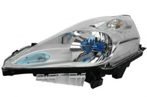 RHD Front Left Headlight x1 Halogen Replacement Spare Fits Nissan Leaf 11.10-On
