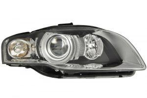 RHD Front Right Headlight x1 Xenon Replacement Spare Fits Audi A4 11.04-06.08
