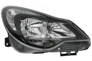 RHD Front Right Headlight x1 Halogen Spare Fits Vauxhall Corsa D 07.06-On