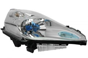 RHD Front Right Headlight x1 Halogen Replacement Spare Fits Nissan Leaf 11.10-On