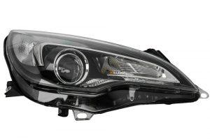 RHD Front Right Headlight x1 Halogen Fits Vauxhall Astra Gtc J 10.11-On