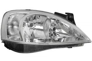 RHD Front Right Headlight x1 Halogen Fits Vauxhall Corsa C 09.00-12.09