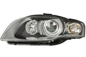 RHD Front Left Headlight x1 Xenon Car Replacement Spare Fits Audi A4 11.04-06.08