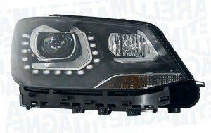 RHD Front Right Headlight x1 Bi-Xenon LED Replacement Fits VW Sharan 05.10-On