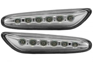 Aftermarket RHD LHD Front Side Indicators Set LED For BMW 1 E81 09.06-09.12