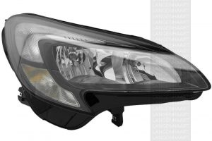 RHD Front Right Headlight x1 Halogen Spare Fits Vauxhall Corsa E 09.14-On
