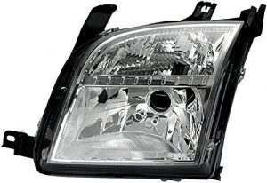 HELLA 1LD 246 044-241 Halogen Headlight, Right, Without bend lighting, with motor for headlamp levelling